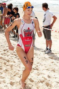 Lauren Campbell - 2012 Subaru Mooloolaba Women's ITU Triathlon World Cup; Mooloolaba, Sunshine Coast, Queensland, Australia; 25 March 2012. Photos by Des Thureson - disci.smugmug.com.