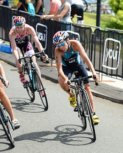 Romina Palacio Balena - 2015 Mooloolaba ITU Triathlon World Cup Women - 2015 Mooloolaba Triathlon Multi Sport Festival, Sunshine Coast, Qld, AUS; Saturday 14 March 2015. Photos by Des Thureson - http://disci.smugmug.com. Camera 1.