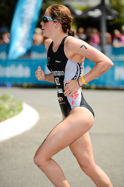 "Simone Ackermann - 2015 Mooloolaba ITU Triathlon World Cup Women - 2015 Mooloolaba Triathlon Multi Sport Festival, Sunshine Coast, Qld, AUS; Saturday 14 March 2015. Photos by Des Thureson - <a href=""http://disci.smugmug.com"">http://disci.smugmug.com</a>. Camera 1."