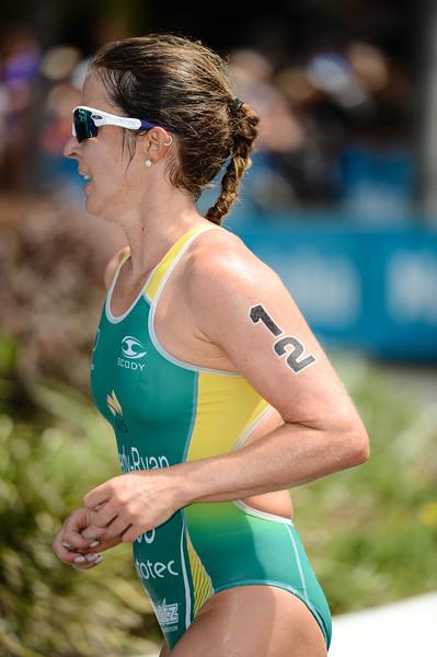 """Felicity Sheedy Ryan - 2015 Mooloolaba ITU Triathlon World Cup Women - 2015 Mooloolaba Triathlon Multi Sport Festival, Sunshine Coast, Qld, AUS; Saturday 14 March 2015. Photos by Des Thureson - <a href=""""http://disci.smugmug.com"""">http://disci.smugmug.com</a>. Camera 1."""