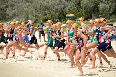 2015 Mooloolaba ITU Triathlon World Cup Women - 2015 Mooloolaba Triathlon Multi Sport Festival, Sunshine Coast, Qld, AUS; Saturday 14 March 2015. Photos by Des Thureson - http://disci.smugmug.com. Camera 1.