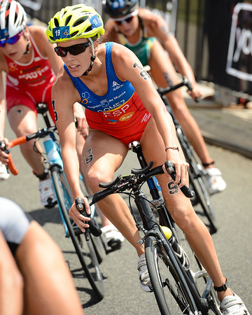 Tamara Gomez Garrido - 2015 Mooloolaba ITU Triathlon World Cup Women - 2015 Mooloolaba Triathlon Multi Sport Festival, Sunshine Coast, Qld, AUS; Saturday 14 March 2015. Photos by Des Thureson - http://disci.smugmug.com. Camera 1.
