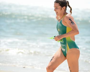 Felicity Sheedy Ryan - 2015 Mooloolaba ITU Triathlon World Cup Women - 2015 Mooloolaba Triathlon Multi Sport Festival, Sunshine Coast, Qld, AUS; Saturday 14 March 2015. Photos by Des Thureson - http://disci.smugmug.com. Camera 1.