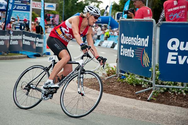 Australian Olympic Swimming Legend Susie O'Neill - Legends Team Triathlon, Noosa Multi Sport Festival, Noosa Heads, Sunshine Coast, Queensland, Australia; 30 October 2010.