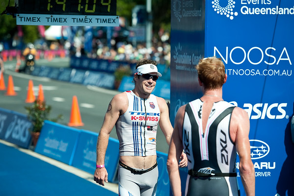Paul Matthews - 2011 Noosa Triathlon, Noosa Heads, Sunshine Coast, Queensland, Australia; 30 October 2011.