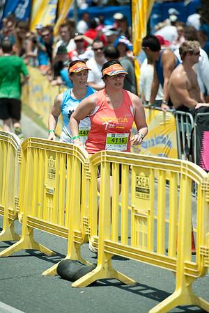 """Born too TRI"" - 2011 Noosa Triathlon, Noosa Heads, Sunshine Coast, Queensland, Australia; 30 October 2011."
