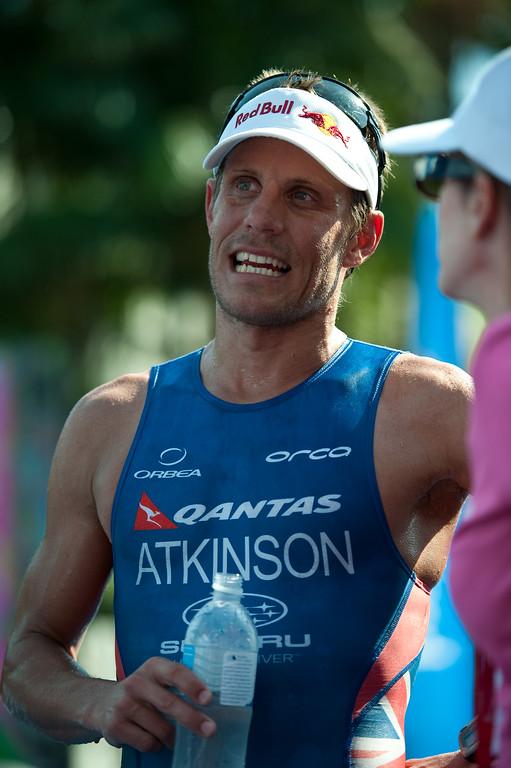 Courtney Atkinson - 2011 Noosa Triathlon, Noosa Heads, Sunshine Coast, Queensland, Australia; 30 October 2011.