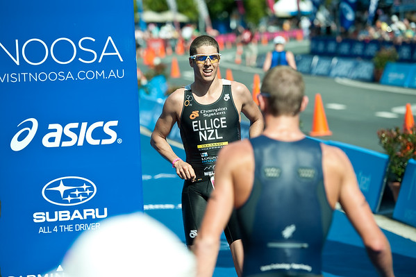 Clark Ellice - 2011 Noosa Triathlon, Noosa Heads, Sunshine Coast, Queensland, Australia; 30 October 2011.