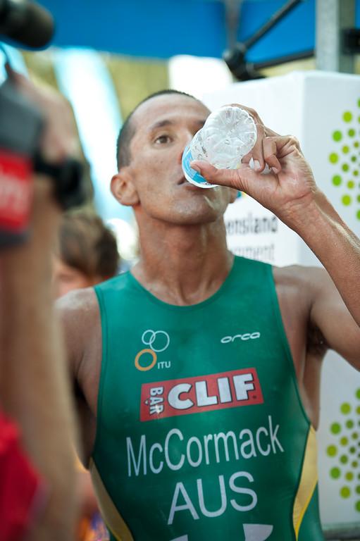 Chris McCormack - 2011 Noosa Triathlon, Noosa Heads, Sunshine Coast, Queensland, Australia; 30 October 2011.
