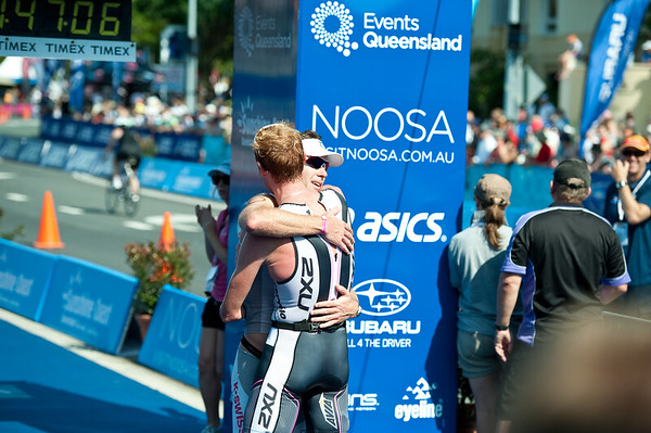 Paul Matthews - 2011 Noosa Triathlon, Noosa Heads, Sunshine Coast, Queensland, Australia; 30 October 2011.