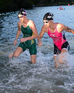 Liz Blatchford - Swim Leg - 2013 Noosa Triathlon, Noosa Heads, Sunshine Coast, Queensland, Australia; 3 November. Camera 1. Photos by Des Thureson - disci.smugmug.com