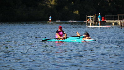 Swim Leg - 2013 Noosa Triathlon, Noosa Heads, Sunshine Coast, Queensland, Australia; 3 November. Camera 2. Photos by Des Thureson - disci.smugmug.com