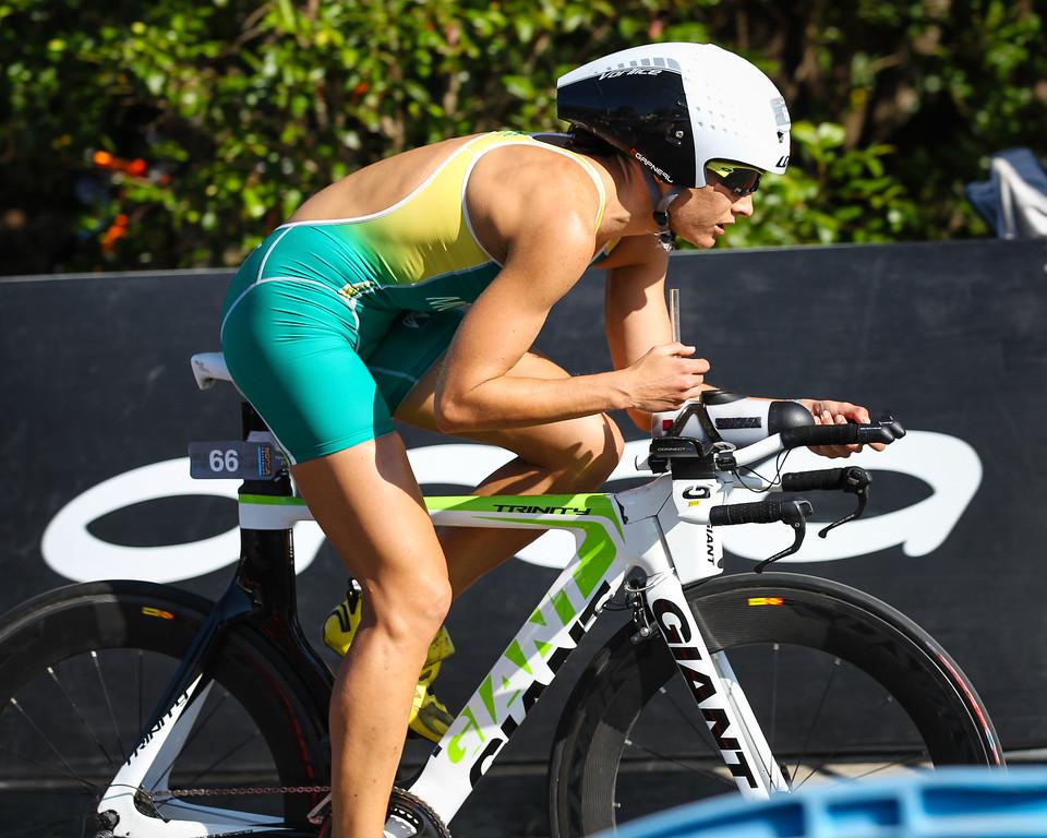 Winner Emma Moffatt - Bike Leg - 2013 Noosa Triathlon, Noosa Heads, Sunshine Coast, Queensland, Australia; 3 November. Camera 2. Photos by Des Thureson - disci.smugmug.com