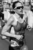 "Alternate Processing: ""Orange Filter"" - Women's Winner, Olympic Bronze Medallist Emma Moffatt - Run Leg - 2013 Noosa Triathlon, Noosa Heads, Sunshine Coast, Queensland, Australia; 3 November. Camera 2. Photos by Des Thureson - disci.smugmug.com"