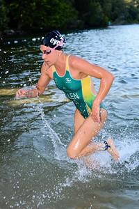 Swim Leg - 2013 Noosa Triathlon, Noosa Heads, Sunshine Coast, Queensland, Australia; 3 November. Camera 1. Photos by Des Thureson - disci.smugmug.com