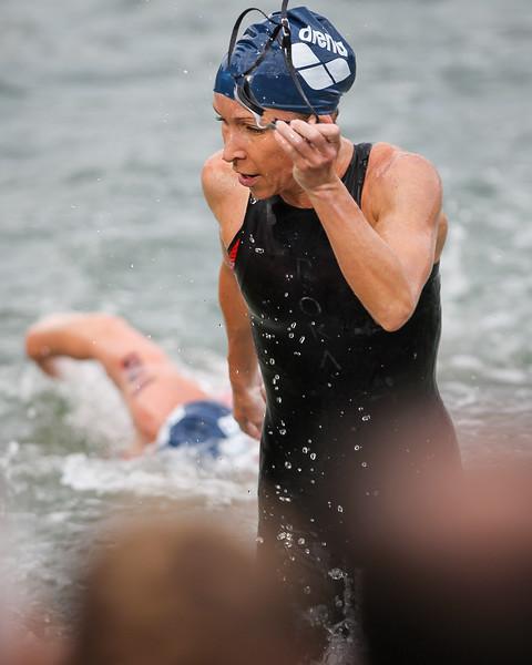 Liz Blatchford - Swim Leg - 2014 Noosa Triathlon, Noosa Heads, Sunshine Coast, Queensland, Australia; 2 November. Camera 2. Photos by Des Thureson - disci.smugmug.com