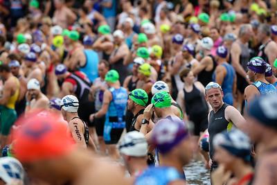 Swim Leg - 2014 Noosa Triathlon, Noosa Heads, Sunshine Coast, Queensland, Australia; 2 November. Camera 2. Photos by Des Thureson - disci.smugmug.com