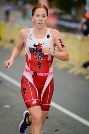 Paula Findlay - Run Leg - 2014 Noosa Triathlon, Noosa Heads, Sunshine Coast, Queensland, Australia; 2 November. Camera 1. Photos by Des Thureson - disci.smugmug.com