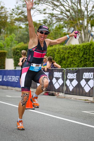 Run Leg - 2014 Noosa Triathlon, Noosa Heads, Sunshine Coast, Queensland, Australia; 2 November. Camera 2. Photos by Des Thureson - disci.smugmug.com
