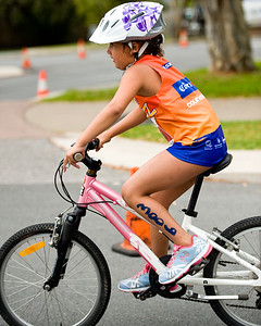 Possibly a next-generation McCormack? - Talia McCormack - Courier Mail Superkidz Triathlon - Noosa Triathlon Multi Sport Festival, Noosaville, Sunshine Coast, Queensland, Australia; Saturday 29 October 2011.