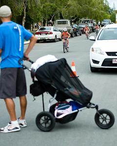 2010 Hawaii Ironman World Champion Chris McCormack supports the next generation of McCormack - Courier Mail Superkidz Triathlon - Noosa Triathlon Multi Sport Festival, Noosaville, Sunshine Coast, Queensland, Australia; Saturday 29 October 2011.
