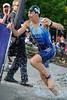 Lisa Marangon - Pre-start, Swim Leg & 1st Transition - Noosa Triathlon, Sunshine Coast, Queensland, Australia; 31 October 2010