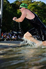 Pre-start, Swim Leg & 1st Transition - Noosa Triathlon, Sunshine Coast, Queensland, Australia; 31 October 2010