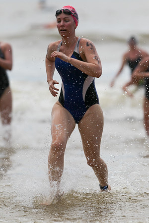 """2012 Mooloolaba Ocean Swim; Mooloolaba, Sunshine Coast, Queensland, Australia; 24 March 2012. Photos by Des Thureson - <a href=""""http://disci.smugmug.com"""">http://disci.smugmug.com</a>.  Unedited, uncropped images - If you order a print, these images will be edited / corrected / cropped before being printed. Des."""