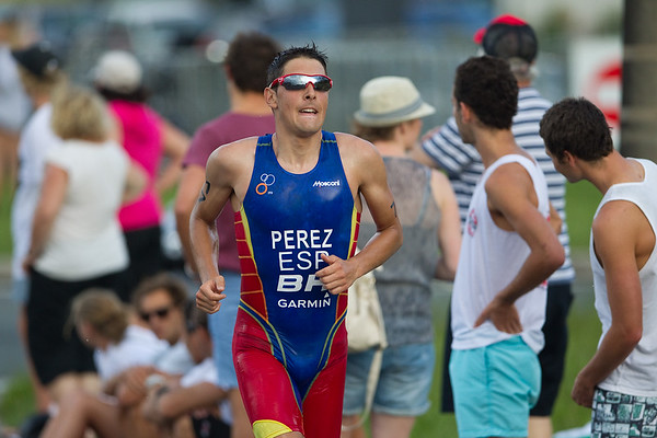 Jose Miguel Perez - 2012 Subaru Mooloolaba Men's ITU Triathlon World Cup; Mooloolaba, Sunshine Coast, Queensland, Australia; 24 March 2012. Photos by Des Thureson - disci.smugmug.com.  Unedited, uncropped images - If you order a print, these images will be edited / corrected / cropped before being printed. Des.
