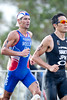 Tony Moulai - 2012 Subaru Mooloolaba Men's ITU Triathlon World Cup; Mooloolaba, Sunshine Coast, Queensland, Australia; 24 March 2012. Photos by Des Thureson - disci.smugmug.com.  Unedited, uncropped images - If you order a print, these images will be edited / corrected / cropped before being printed. Des.