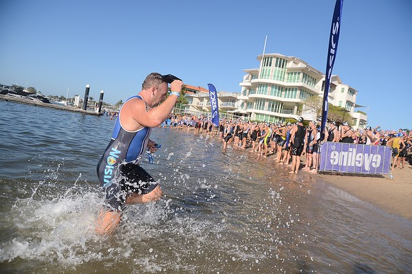 2013 Mooloolaba Triathlon; Mooloolaba, Sunshine Coast, Queensland, Australia; 17 March 2013. Camera 1. Photos by Des Thureson - disci.smugmug.com.