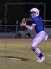 Trinity Valley High School QB#3 Gavin Parkhurst drops back to pass.