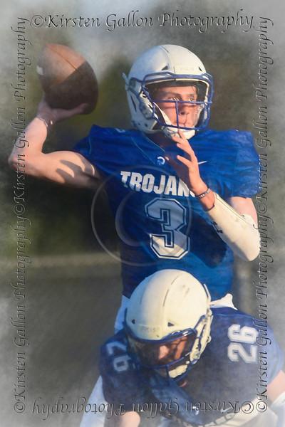Trinity Valley High School QB #3 Gavin Parkhurst