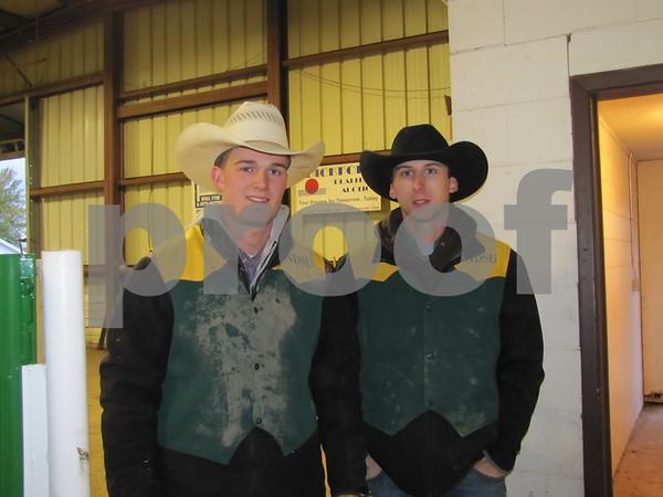 Aaron Lalain and Kasey Dressler