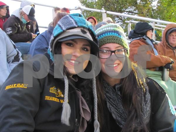 Shannon Ellig and Joessa Giesen from North Dakota State University.