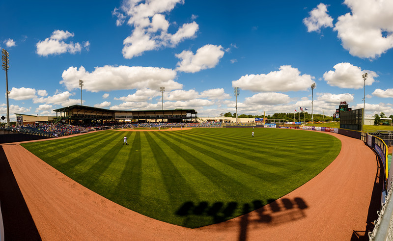 Panoramic of Trustmark Park in the daytime (hi res)