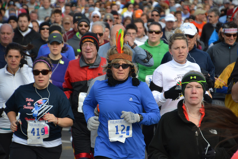 Turkey Trot 2013 Start 2013-11-22 030