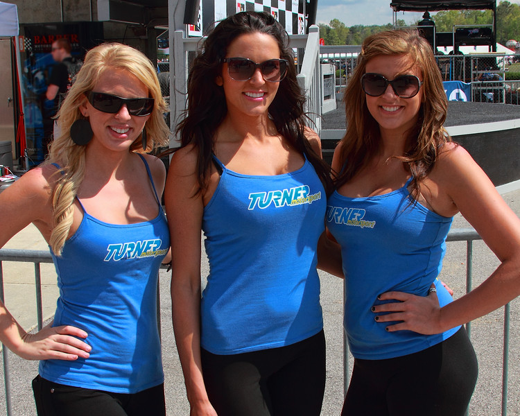 Lovely Turner Motorsport Girls Outside Victory Lane 2012 Barber Motorsports Park Alabama
