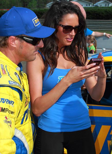 Turner Motorsport Girl Race 2012 Fan Walk Barber Motorsports Park