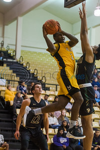 Tyler Junior College's Deandre Heckard (2) attempts a shot at the basket during game action against Brookhaven Thursday, Nove. 7, 2019, at Wagstaff Gym in Tyler. (Cara Campbell/Tyler Morning Telegraph)