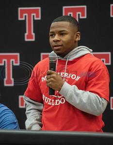 Tyler Lee High School athlete Jamichael Turman will attend McPherson.   (Sarah A. Miller/Tyler Morning Telegraph)