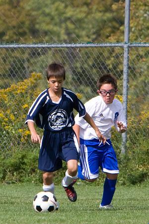 U-11 Boys Fall 2010 Game 2
