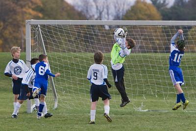 U-11 Boys Fall 2010 Game 8