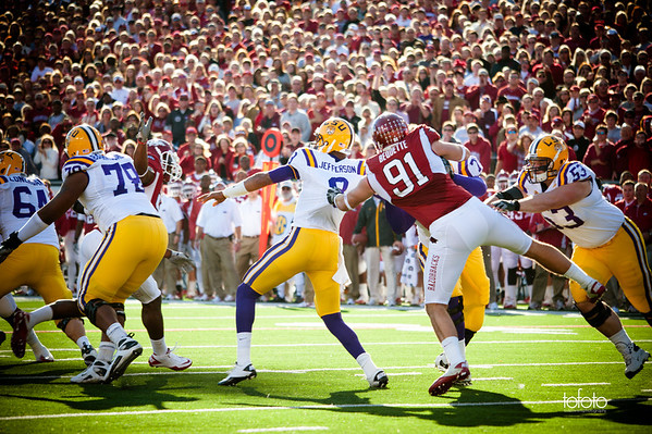 U of A vs LSU 2010