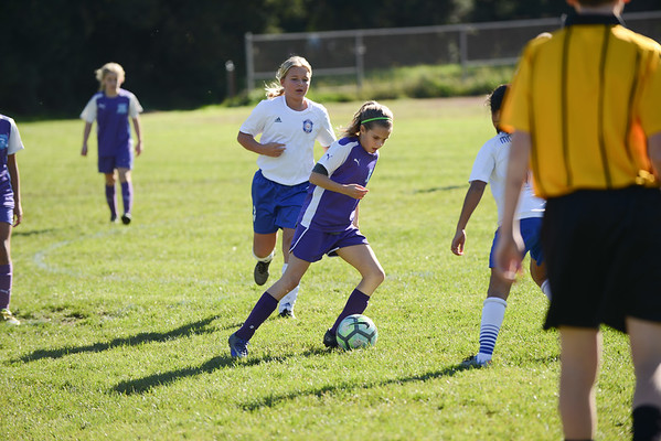 U11 Girls White Hill Game