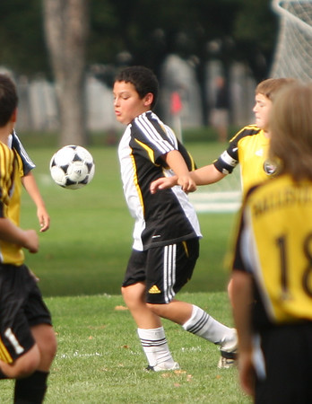 U12 Boys Benicia Arsenal vs Ballistic United 10-2-11