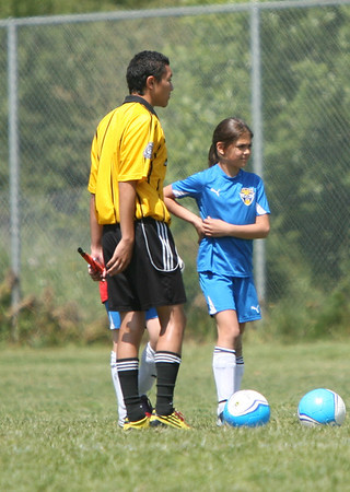 U12 Girls ABSC Lightning Stryke vs Castro Valley