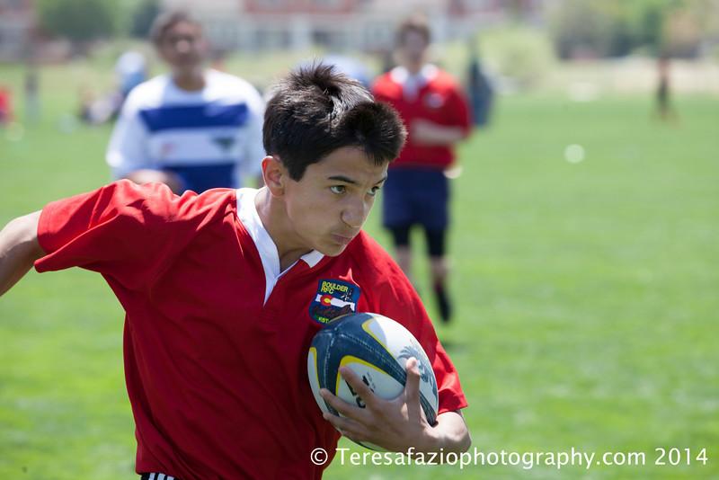 Boulder Rugby  Sevens U14s  May 2014
