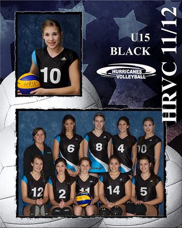 U15 Black Halton Hurricanes 2011/12