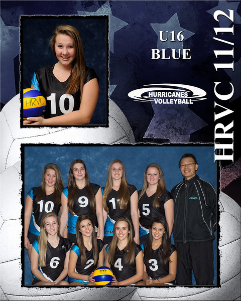 U16 Blue #10